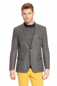 'Harvis' | Slim Fit, Stretch Virgin Wool Blend Sport Coat by BOSS Серый R36